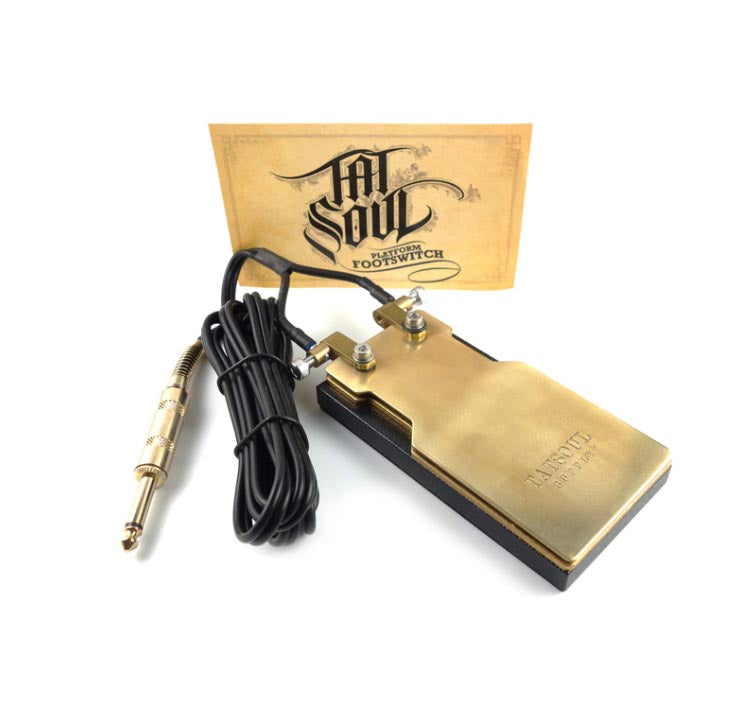 PLATFORM FOOT SWITCH [MATTE BLACK] - PEDAL - TATSOUL