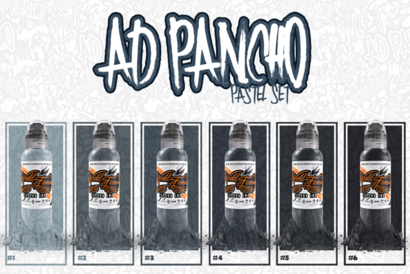 AD PANCHO - PASTEL GREY - SET [1oz]