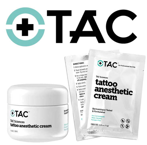 TAC Sciences Tattoo Anesthetic Cream