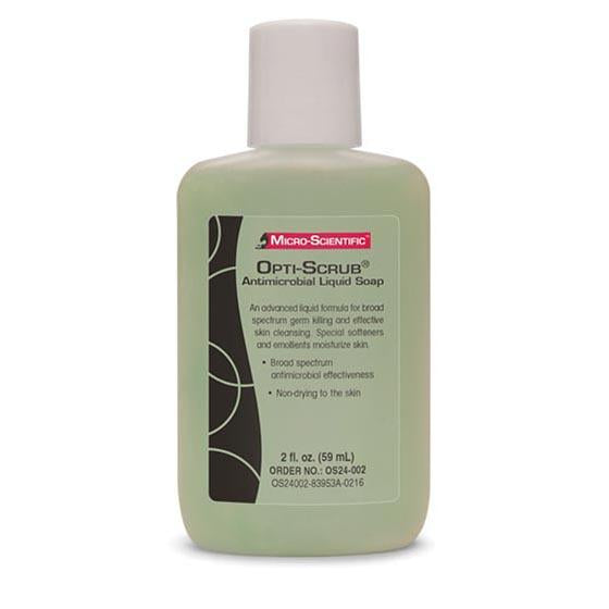 OPTI-SCRUB JABÓN ANTIMICROBIANO 2oz [ 59ml ]