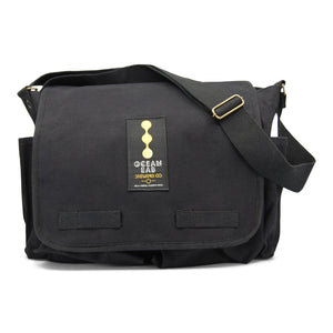 Ocean Lab Messenger Black Bag
