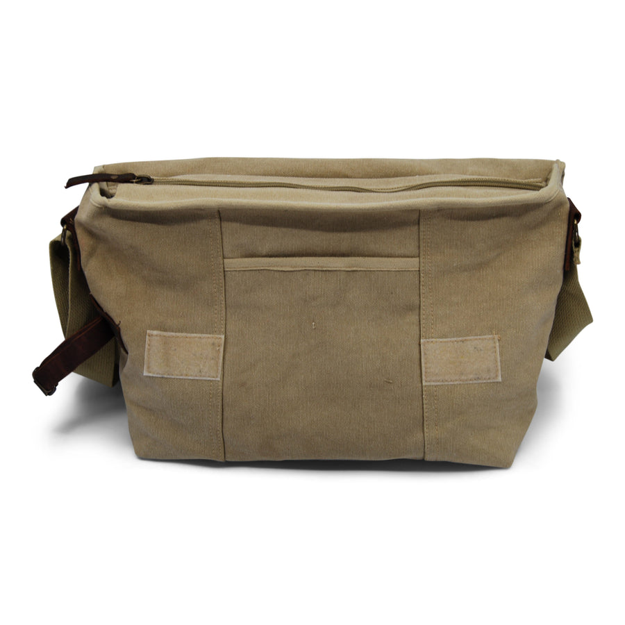 Ocean Lab Explorer Shoulder Khaki Bag