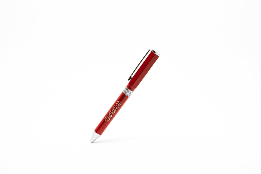 Ocean Lab Hexagon Pen- Red