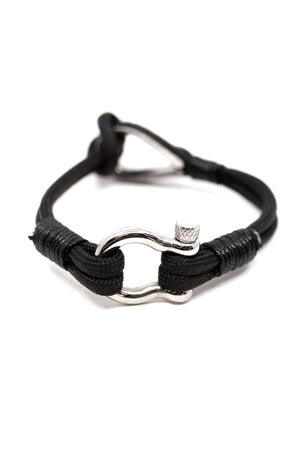 Shackle & Hook Cord Bracelet Ocean Lab