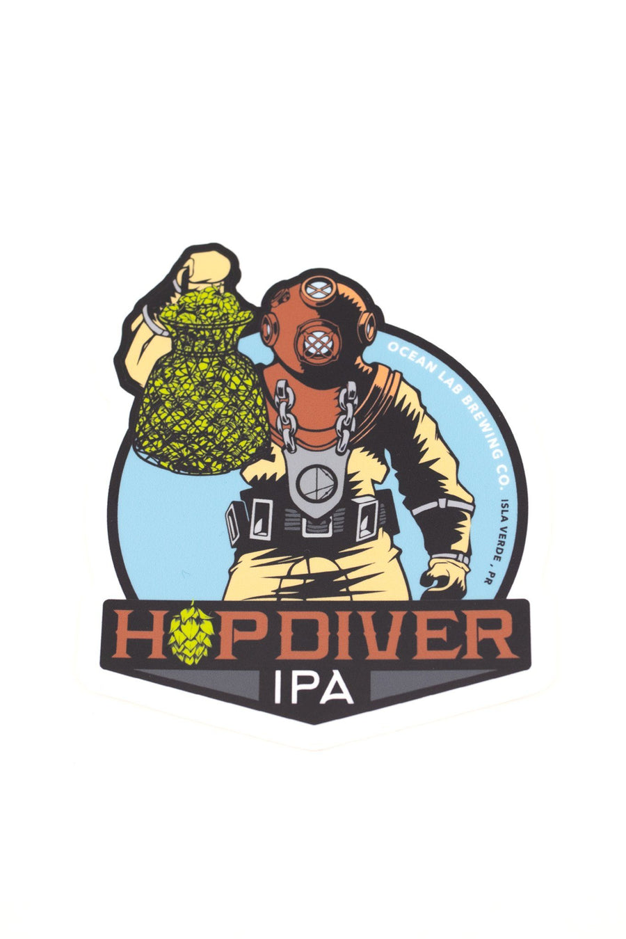 Sticker - HopDiver IPA