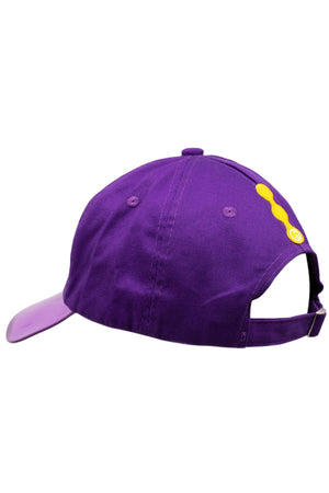 Purple Waves Sun Cap