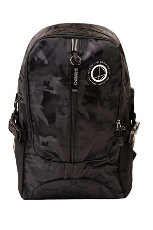 Ocean Lab Black Camouflage USB Backpack