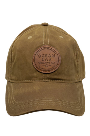 Ocean Lab Waxed-Tan Cap