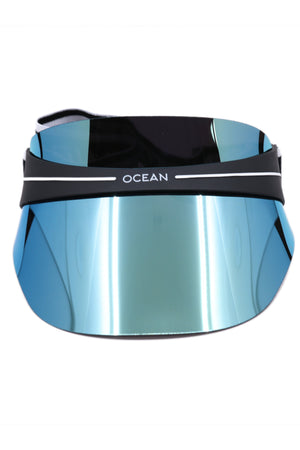 Ocean Lab Beach Visor Metallic Blue