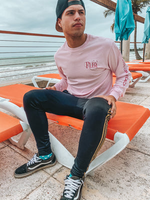 Ruby Long Sleeve Pink