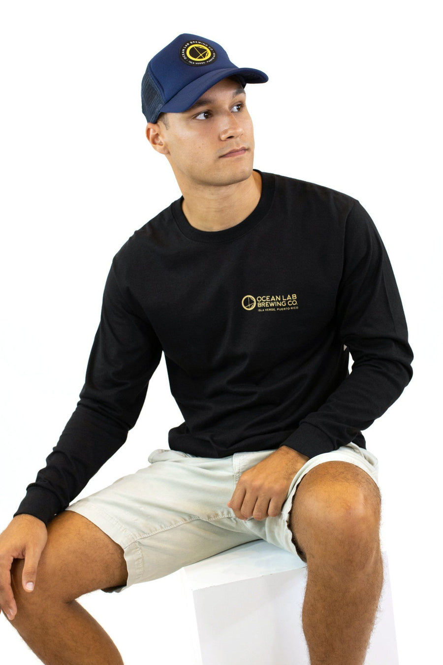 Wave Cut Long Sleeve T-Shirt