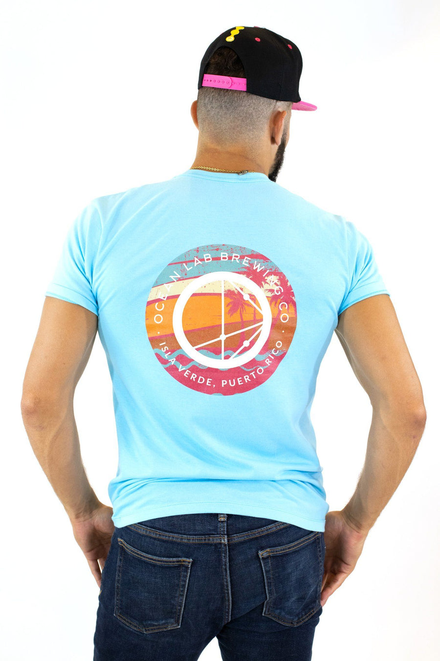 Surfer SS T-Shirt MV Aqua