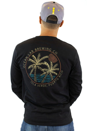 Palm Cut Long Sleeve T-Shirt
