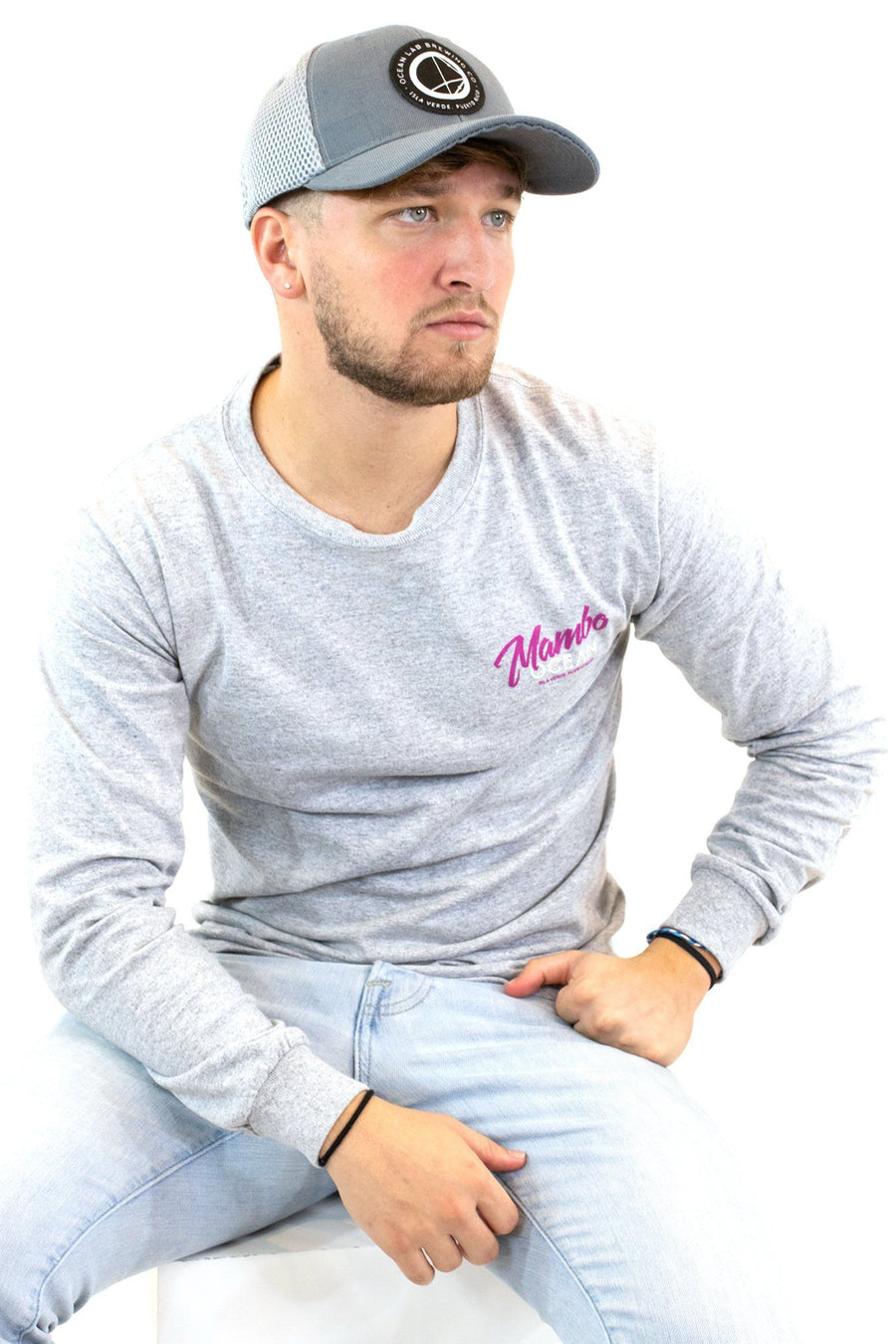 Mambo Long Sleeve Gray