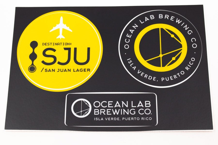 SJU Sticker Set