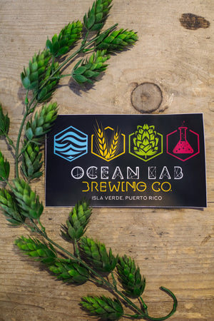 Ocean Lab Elements Bumper Logo Sticker