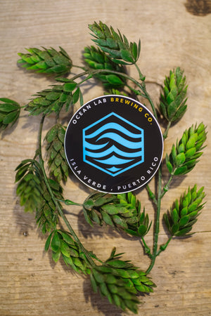 Sticker - Ocean Lab Water Logo