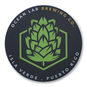 Ocean Lab Hop Logo Sticker