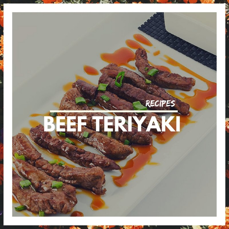 Beef teriyaki recipe By Aliz Foods