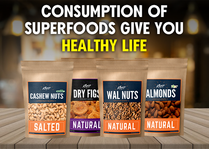 Consumption of superfoods give you healthy life