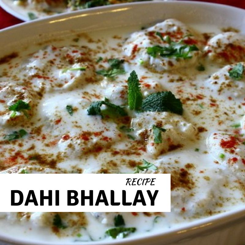 Dahi Bhalla Recipe in Urdu