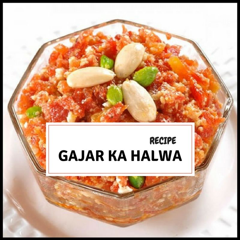 Gajar Ka Halwa Recipe in Urdu & English Step by Step