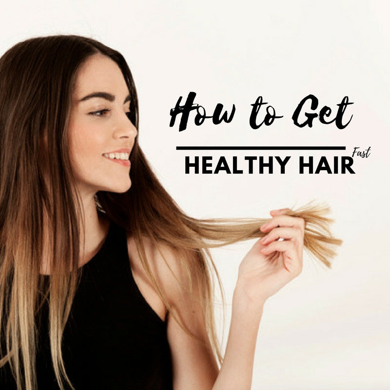 How to Get Healthy Hair Fast Through Various Ways