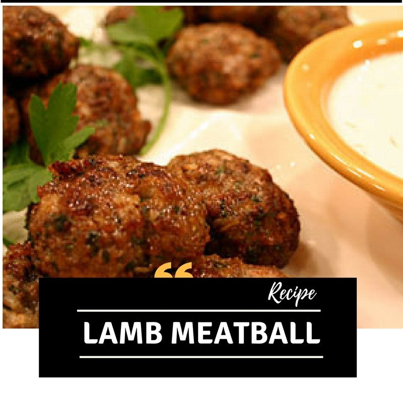 Delicious Lamb Meatball Recipe