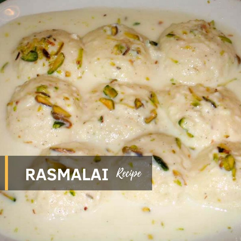 Rasmalai Recipe in Urdu by Aliz Foods