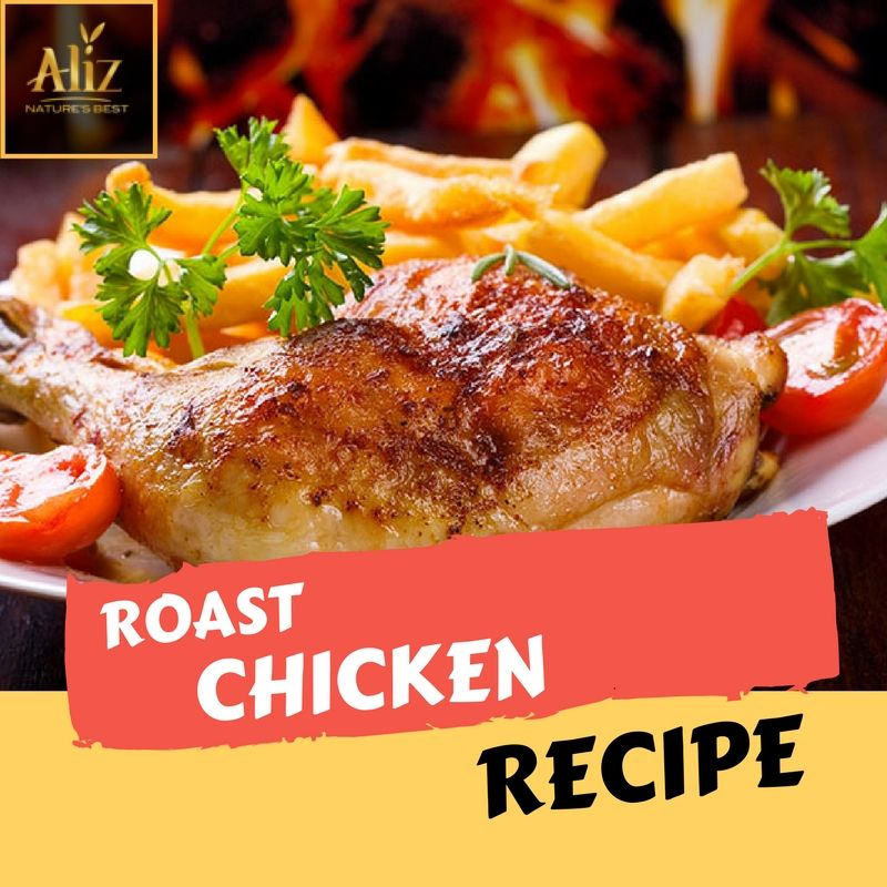 Roast Chicken Recipe | How To Make Roast Chicken