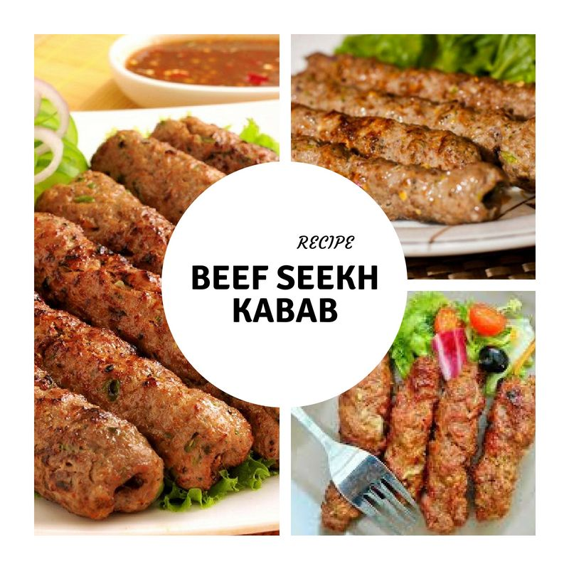 Beef Seekh Kebab Recipe in Urdu