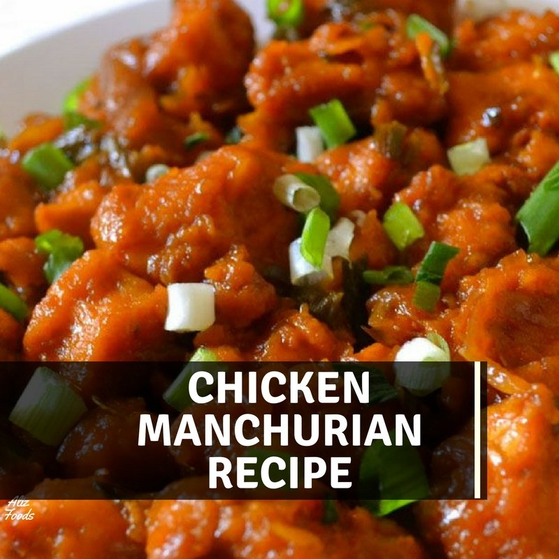 Chicken Manchurian Recipe In Urdu English Aliz Foods