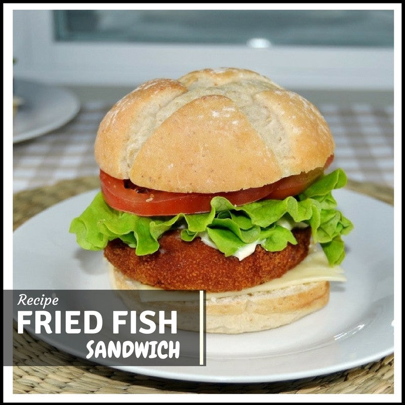 Fried Fish Sandwich Recipe By Aliz Foods