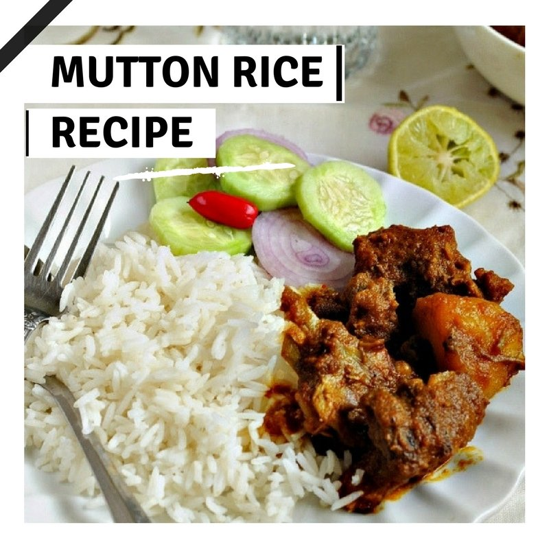 Sunday Special Tasty Mutton Rice Recipes