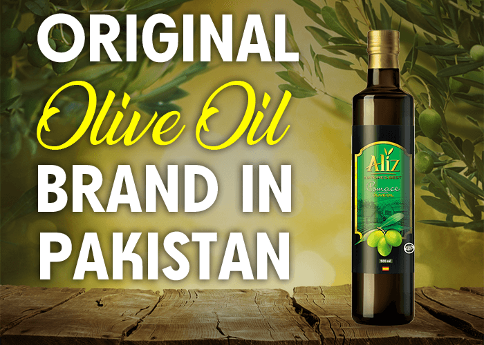 Original olive oil brand in Pakistan