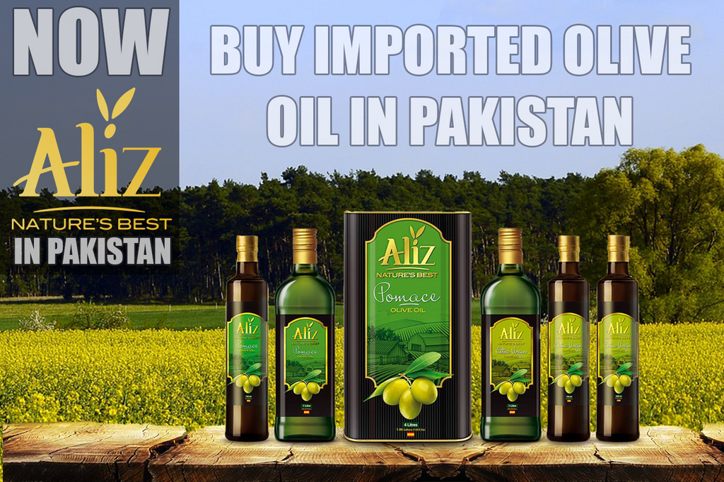 Where to Buy Imported Olive Oil in Pakistanc