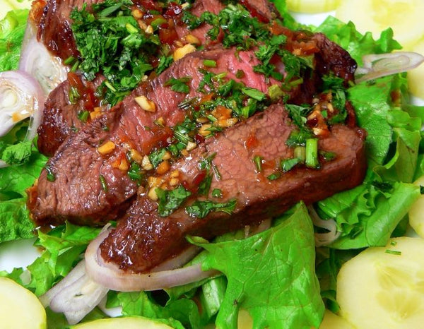 Grilled Thai Beef Recipe