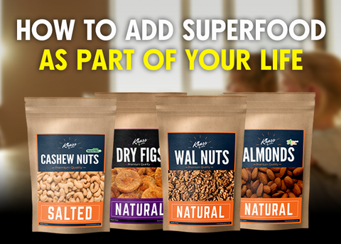 how to add Superfoods