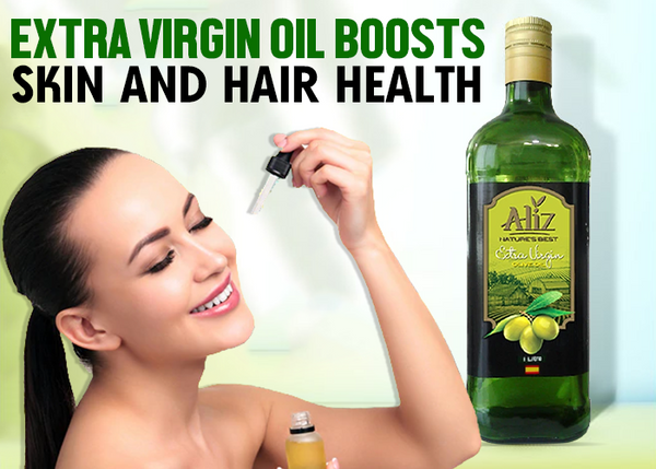 extra virgin olive oil for skin and hair
