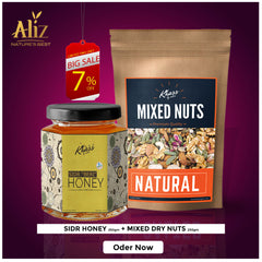 Sidr honey 250gm and Mix Nuts 250gm
