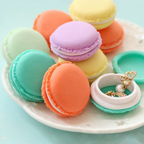 Macaroon Mini Jewelry Box - 6 Colors