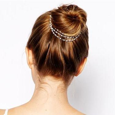 Imitation Pearl Headpiece