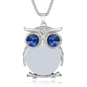 Owl Pendant Long Necklace - 8 Styles