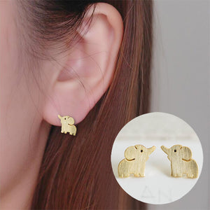 Extra Luck Elephant Stud Earrings