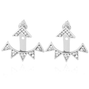 Triangles Dangle Earrings - 2 Color