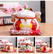 4.5 Inch Lucky Cat With Fans