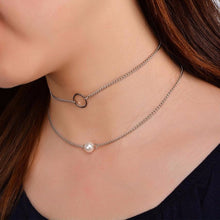 2 layer necklace - 2 Colors