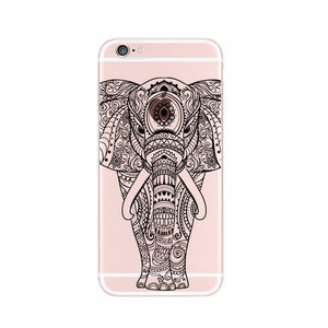 Transparent Elephant Phone Case - iPhone / Samsung Galaxy - 2 Variants
