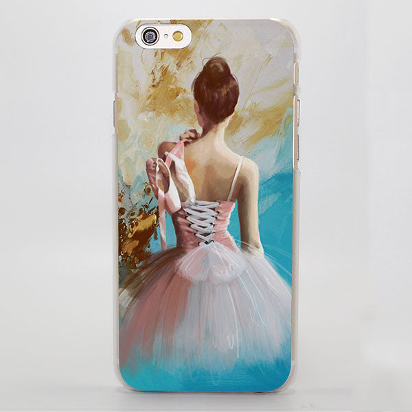 Ballerina iPhone Case ( For iPhone SE 5 5S 5C 6 6S 6 Plus 7 7 Plus)