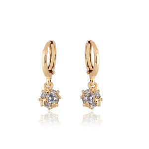 Chic Crystal Ball Earrings